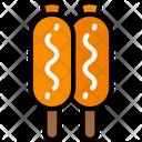 Corn Dogs Icon