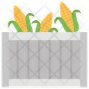 Corn Harvest Grain Corn Cob Icon