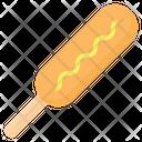 Corndog Hotdog Sausage Icon