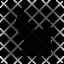 Corner Minimize Diagonal Icon