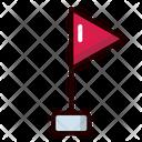 Corner Flags Football Icon