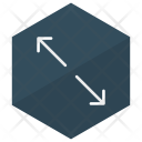 Corner Arrows Direction Icon