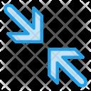 Corner Minimize Arrow Icon