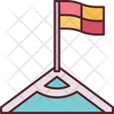Corner Flag Football Soccer Icon