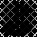 Corner Flag Flag Football Icon