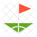 Corner flags Icon