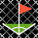 Field Corner Flag Icon