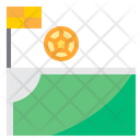 Corner Flag Kick Corner Kick Corner Flg Icon