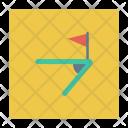 Corner Kick Flag Corner Icon