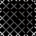 Arrow Corner Up Icon