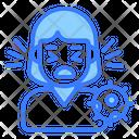 Corona Australis Corona Virus Icon