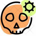 Corona Death Death Rip Icon