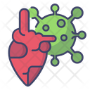Corona Heart Icon