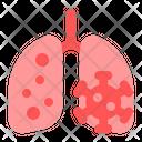 Corona In Lungs Corona Lungs Icon