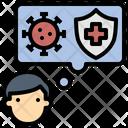 Awareness Coronavirus Protection Icon