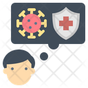 Awareness Coronavirus Protection Icon