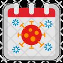 Corona Virus Calendar Icon