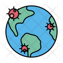 Earth Pandemic Plague Icon