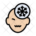 Patient Flu Snow Icon