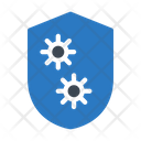 Shield Care Corona Icon
