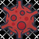 Corona Virus Virus Bacteria Icon