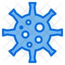 Virus Bacteria Cell Icon