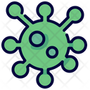 Bacteria Coronavirus Covid Icon