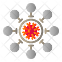 Covid Corona Virus Community Icon