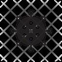 Covid Corona Virus Virus Icon