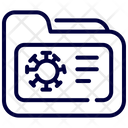Corona Virus Files Icon