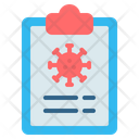 Medical Health Report Icon