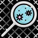 Corona Virus Testing Icon
