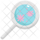 Magnifying Glass Virus Icon