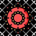 Corona Coronavirus Epidemic Icon