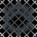 Coronavirus Sars Mers Icon