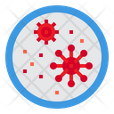Virus Microorganism Cells Icon