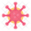 Covid 19 Coronavirus Bacteria Icon