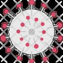 Coronavirus Pandemic Virus Icon