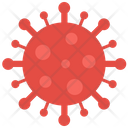 Virus Covid Infection Icon