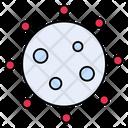 Corona Virus Bacteria Icon