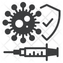 Virus Vaccine Covid Icon