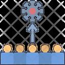 Spread Risk Crowd Icon