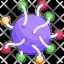 Coronavirus Germ Microbe Icon