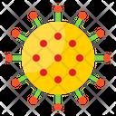 Coronavirus Bacteria Virus Icon
