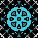 Coronavirus Virus Covid 19 Icon