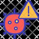 Coronavirus Alert Icon