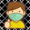 Wear Mask Face Mask Mask Icon