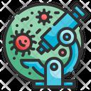 Coronavirus Bacteria Icon