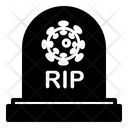 Coronavirus Dead Icon