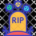Coronavirus Death Icon